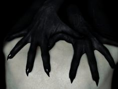 black     claws     creepy     gore     gothic     horror     nails     scary     werewolf
