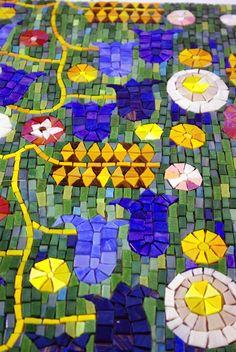 Colorful #mosaic art                                #mosaicdesigns #mosaicart