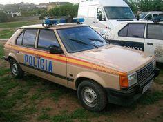 Talbot Horizont. Mediados de los años 80. Police Cars, Police Vehicles, Police Uniforms, Emergency Vehicles, Cars And Motorcycles, Van, Retro, Vintage, Cars Motorcycles