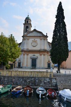 San Giovanni church , Lago di Como , Italy