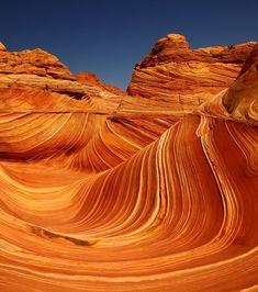 Les buttes aux coyotes situées dans le désert de l'Arizona aux Etats-Unis