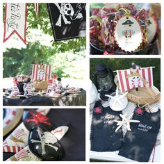 Pirate Party Mateys! {Parties I've Styled} | Amy's Party Ideas