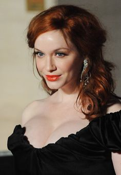 Christina Hendricks Photos - (UK TABLOID NEWSPAPERS OUT) Christina Hendricks poses in the press room at The Orange British Academy Film Awards 2012 at The Royal Opera House on February 12, 2012 in London, England. - Orange British Academy Film Awards 2012 - Press Room