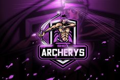 , Archery Shot - Mascot & Esport logo- Suitable for your personal or squad logo, All elements on this template are editable with adobe illustrator! Editable Text, Before you open the Logo Files, you must install the font first in the Stationery Templates, Print Templates, Team Mascots, Esports Logo, Game Logo, Magazine Template, Logo Sticker, Coreldraw, Archery