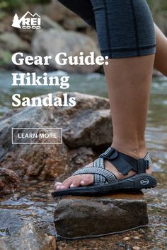 Free your feet! These are our favorite hiking sandals for everything from rocky, wet epics to long travel days. Hiking Sandals, Hiking Gear, Outdoor Adventures, The Great Outdoors, Trekking, Healthy Life, College, Camping, Journal