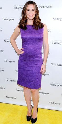 Look of the Day - March 14, 2013 - Jennifer Garner in Oscar de la Renta from #InStyle