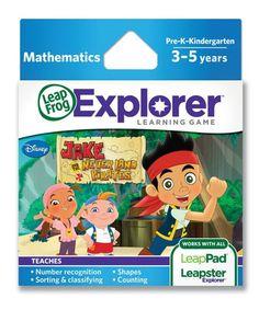 JAKE & THE NEVERLAND PIRATES Leapster Explorer LeapFrog LeapPad Game Software on eBay!