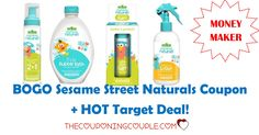 PRINT NOW for a MONEYMAKER! There is a new BOGO Sesame Street Products coupon that you can print to stack at Target to get a moneymaker!  Click the link below to get all of the details ► http://www.thecouponingcouple.com/bogo-sesame-street-products-target-deal-moneymaker/ #Coupons #Couponing #CouponCommunity  Visit us at http://www.thecouponingcouple.com for more great posts!
