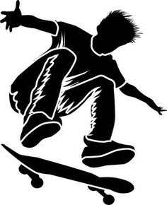 and easily create an extreme sports inspired design on walls anywhere with our Pop Shove It Skateboarding Painting Stencil!Quickly and easily create an extreme sports inspired design on walls anywhere with our Pop Shove It Skateboarding Painting Stencil! Horse Shirt, Silhouette Art, Running Silhouette, Stencil Painting, Extreme Sports, Anime Comics, Dog Mom, Urban Art, Art Drawings