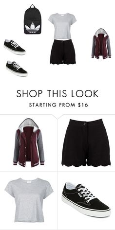 """""""Casual Day Out In NZ"""" by grace-dxvii on Polyvore featuring Boohoo, RE/DONE, Vans and Topshop"""