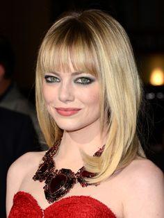 Emma Stone's statement-making bangs
