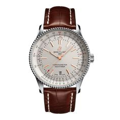 Worldwide Watches Magazine Breitling Navitimer, Breitling Watches, Old Watches, Watches For Men, Sleek Rose Gold, Or Rouge, Bracelet Cuir, Watch Model, Automatic Watch