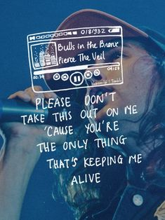 "Pierce the Veil lyrics<< And people say Pierce the Veil is ""negative"" and…"
