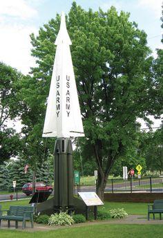 Hercules Missile in Missile Park, St. Bonifacius, MN