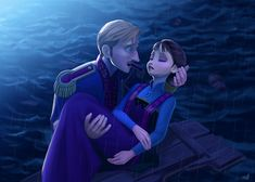 I can't believe that this is Disney Frozen. Frozen Anime, Frozen Sad, Frozen And Tangled, Frozen Heart, Disney Frozen, Elsa Frozen, Disney Magic, Disney Art, Disney Movies