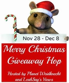 Giveaway! $25 Amazon Gift Card - Merry Christmas Giveaway Hop http://www.weidknecht.com/2014/11/giveaway-25-amazon-gift-card-merry.html