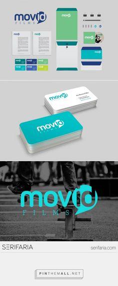 www.serifaria.com [SERIFARIA | graphic design studio] Desenvolvimento de logotipo e papelaria básica para a produtora de vídeo MOVID.