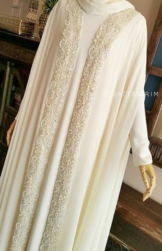 Wedding Abaya, Muslimah Wedding Dress, Muslim Wedding Dresses, Muslim Dress, Pakistani Dresses, Niqab Fashion, Muslim Fashion, Modest Fashion, Fashion Dresses