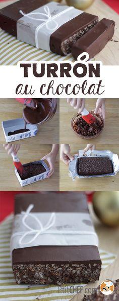 Chocolate puffed rice bars for afternoon tea // Source by ptitchef Rice Bar, Chocolate Recipes, Chocolate Crunch, Chocolate Fundido, B Food, Pear Cake, Puffed Rice, Biscuit Cookies, How To Make Chocolate