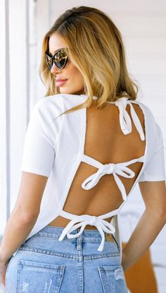Cupid Tie Up Back Top
