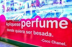 """""""Aplíquese #Perfume donde quiera ser besada."""" #CocoChanel #MishkaPerfumería #Quotes www.mishka.mx"""