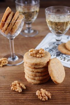 Cheddar Walnut Crackers for French Fridays / Patty's Food @Patty Price / Patty's Food