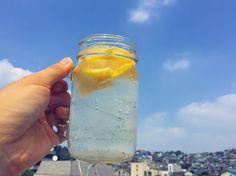 안더운척.. . . . . #여름 #레몬 #lemon #사이다 #soda #sprite