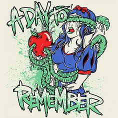 Inspiring picture a day to remember, art, illustration, photo, snow white. Find the picture to your taste! A Day To Remember, Music Is Life, My Music, Rock Music, Amity Affliction Lyrics, Apple Stickers, Bad Apple, Most Beautiful Animals, Emo Boys