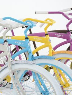 Create a whole fleet of cruisers or just a few, with your companies distinct colors and branding recognition. Bicycle, Branding, Create, Colors, Bike, Brand Management, Bicycle Kick, Bicycles, Colour
