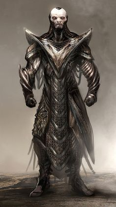 Concept Art World » Thor: The Dark World Costume Concept Illustrations by Jerad S. Marantz via PinCG.com #aliens