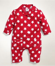 Christmas Star Printed Romper
