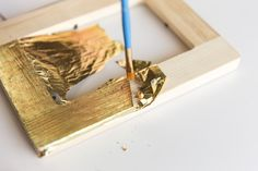 How To: Tips for Working With Gold Leaf