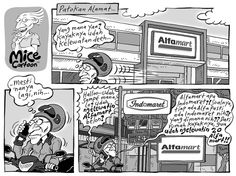 Mice Cartoon, Kompas 19 Januari 2014: Patokan Alamat