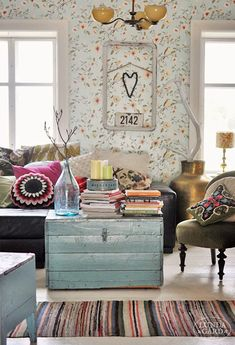 DIY Home Decor - Superb yet vibrant decor tips. Nice styling id stored under quirky home decor ideas creative colour catergory as well produced on this moment 20190104 Living Room Inspiration, Interior Inspiration, Diy Home Decor, Room Decor, Piece A Vivre, Interior Decorating, Interior Design, Home Fashion, Gypsy Fashion
