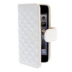Bekijk alle stijlvolle iPhone hoesjes - #leather iphone 5 case white | pu couro caso de corpo inteiro com slot para cartão e pressão magnética para o iphone 5/5s (branco) – BRL R$ 21,30 - http://www.ledereniphonehoesjes.nl/slimme-iphone-6-hoesjes/