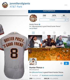 Buster Posey's good friend