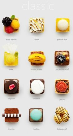 Makes it nice an easy to tell what you're eating. The little keys in chocolate boxes saying which is which is often more fun than the chocolate itself.