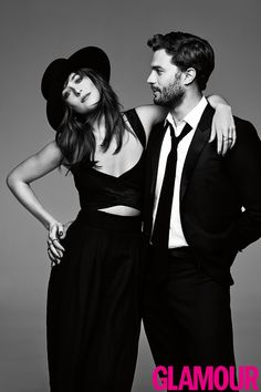 Jamie & Dakota Photoshoot for Glamour Magazine 2015 Thanks to…