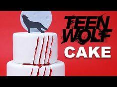 TEEN WOLF CAKE - NERDY NUMMIES - YouTube