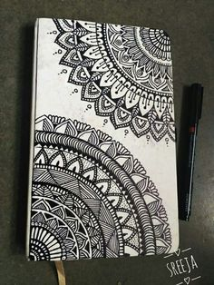 40 Beautiful Mandala Drawing Ideas & Inspiration - Brighter Craft Source by Need some drawing inspiration? Here's a list of 40 beautiful Mandala drawing ideas and inspiration. Why not check out this Art Drawing Set Artist Sketch Kit, perfect for practisin Mandala Doodle, Easy Mandala Drawing, Simple Mandala, Mandala Art Lesson, Doodle Art Drawing, Mandalas Drawing, Zentangle Drawings, Pencil Art Drawings, Cool Art Drawings