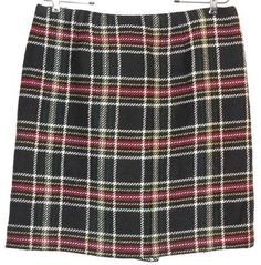"""Talbots Wool Plaid Skirt. This Talbots Wool Plaid Skirt was voted """"Most Flattering Fit"""" by Tradesy members! Get it before it's gone at Tradesy, where savings rule."""