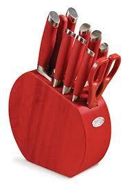 Red Kitchen Accessories Utensils Liances Knives Ware