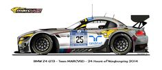 BMW Z4 GT3 #25
