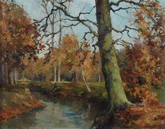 Willem Bastiaan Tholen - Park Clingendael in de herfst