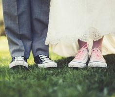 I have a special place in my heart for @Converse weddings for some reason... maybe because the couples always just seem awesome and laid back! by @britjaye