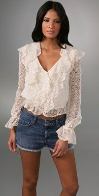 Poet's blouse, had to have one of these too...