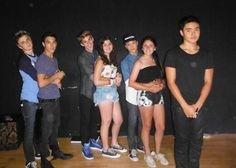 best picture with fans ever...oh Will, how much more awkward does it get...then you notice Gabe and  Dalton
