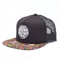 Introducing the Wampum Mariachi Trucker. Mariachi Hat, Designer Caps, Cheap Mens Fashion, Womens Fashion, Bag Clips, Caps For Women, Mens Caps, Hats For Men, Caps Hats
