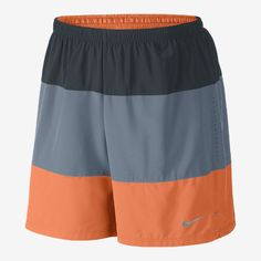 """Nike 7"""" Phenom Color-Blocked 2-in-1 Men's Running Shorts Running Shorts, Trunks, Swimming, Nike, Swimwear, Clothes, Color, Fashion, Athletic Wear"""