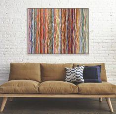 Funky Fruits - 120 x 90cm acrylic on canvas – George Hall Art Funky Fruit, Colourful Art, Complimentary Colors, Kids Room Art, Happy Art, Bedroom Art, Australian Artists, Acrylic Painting Canvas, Top Artists